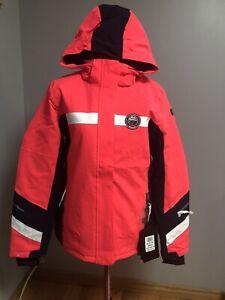 Girls Killtec Ski Snowboard Winter Jacket Age 15-16 EUR 176cm