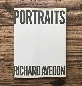 PORTRAITS, RICHARD AVEDON -- SIGNED, Harold Rosenberg, 1st Edition FSG HC (1976)