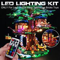ONLY LED Light Lighting Kit For Lego 21318 Ideas Treehouse Bricks Toys