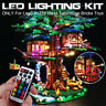 ONLY LED Light Lighting Kit For Lego 21318 Ideas Treehouse Bricks Toys