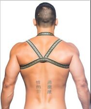 Andrew Christian Gold Massive Gladiator Harness (Ships Same Day)