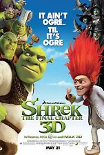 Shrek Forever After (2010) Original 27 X 40 Theatrical Movie Poster