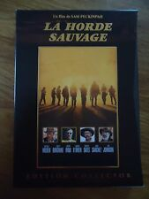 Collector 2 DVD * LA HORDE SAUVAGE * SAM PECKINPAH HOLDEN BORGNINE WESTERN