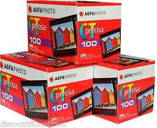 3 x AGFA PRECISA 100 35mm 36exp CHEAP COLOUR SLIDE by 1st CLASS POST