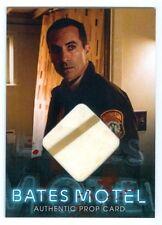 "ROMERO ""2 COLOR SHOWER CURTAIN PROP CARD #BP1"" BATES MOTEL SEASON 1"