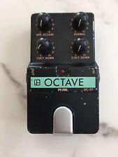 Pearl OC-07 Octaver Analog Octave Rare Vintage Guitar Effect Pedal MIJ Japan