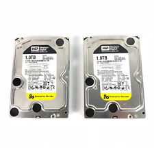 "2 x Western Digital RE3 1 TB, interno, 7200 RPM, 8.89 cm (3.5"") (WD 1002 FBYS)"