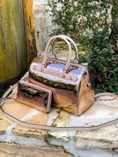 NWT Michael Kors Large Duffle Metallic Signature handbag/Wallet  ROSE GOLD