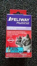 Feliway MultiCat Refill Diffuser, 48ml Exp 10/2023 30 day refill