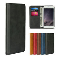 For Apple iPhone 7 Plus / 8 Plus Luxury Magnetic Leather Wallet Flip Case Cover