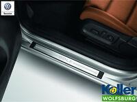 Original Volkswagen Einstiegleisten Satz Edelstahl VW Golf 6 4 türer