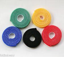 (5pcs/pack) Nylon self-gripping fastener / Nylon migic tape,black-loop cable tie