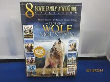 8 Movie Family Adventure Collection 2dvd NTSC 12Hrs.NEW SuperFastShipping+Tracki