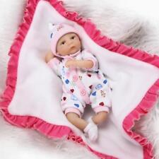Nicery Reborn Baby Doll Soft Silicone Girl Toy 8in. 20cm Lifelike Gift C002BO