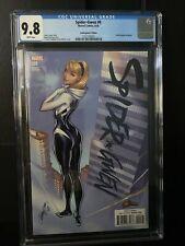 Spider-Gwen #9 Cgc 9.8 Marvel Comics 2016. J. Scott Campbell Trade Dress Cover.