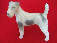 More details for 3165 royal copenhagen  figurine wirehaired terrier