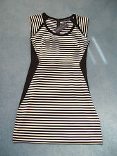 French Connection Striped Short/Mini Stretch, Bodycon Women's Dresses