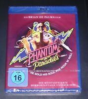 Phantom en Paradies de Brian Palma Blu Ray más Rápido Envío Nuevo y Emb. Orig.