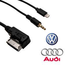 Pour Audi VW iPhone 5 6 7 8 Câble Voiture AUX AMI MMI Interface Audio Connecteur