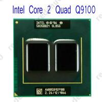 Intel Core 2 Quad Q9100 2.26GHz/12M/1066MHz Socket PGA478 CPU Laptops Processor
