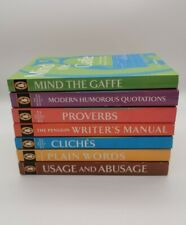 Bundle of Penguin English Reference Paperback Books x7