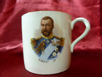 Antique Coronation CUP King George V & Queen Mary Allertons Royal Memorabilia V2