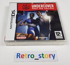Nintendo DS Undercover : Mène Ton Enquête NEUF / NEW PAL