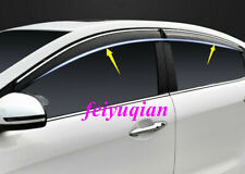 ABS Window Wind Deflector Visor Rain Sun Guard Vent For Mazda CX-3 CX3 2016-2019