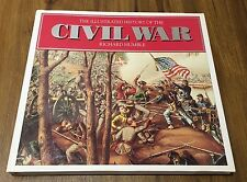 ILLUSTRATED HISTORY OF THE CIVIL WAR, R. Humble, Large 264 Page Hardcover Book