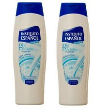2x AVENA Instituto Espanol Shower Gel Gel De Ducha Nourishing Smooths Softness
