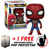FUNKO POP MARVEL AVENGERS 3 INFINTY WAR IRON SPIDER + FREE POP PROTECTOR