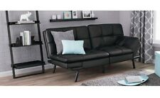 Futon Sofa Memory Foam Convertible Lounger Bed Sleeper Solid Furniture Comfort