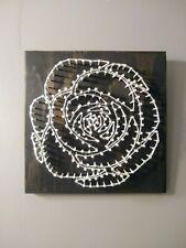 String Art Rose Handmade Decor
