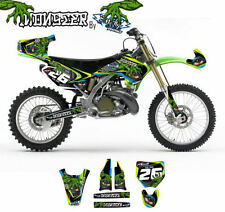 KIT ADESIVI GRAFICHE MONSTER KAWASAKI KX 125 250 2003 DEKOR DECALS