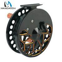 "Maxcatch Center Pin Float Reel Super Smooth Floating Fishing Reel 4 1/2"" 110mm"