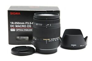 Very Clean Sigma 18-250mm f3.5-6.3 DC MACRO OS HSM Lens in Sigma SA Mount #33362