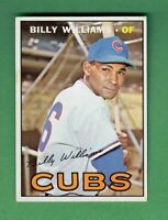 1967 TOPPS #315 BILLY WILLIAMS HALL OF FAME CHICAGO CUBS EX-MT+