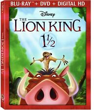 Disney: The Lion King 1 1/2 Blu-Ray Combo Pack (Blu-Ray/DVD/Digital HD)W/SLIP