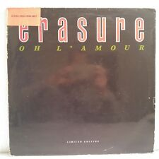 "Erasure ‎– Oh L'Amour (Vinyl 12"", Maxi 45 Tours, Limited Edition)"