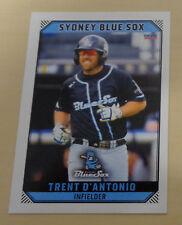 Trent D'Antonio 2018/19 Australian Baseball League Trading Card- Sydney Blue Sox