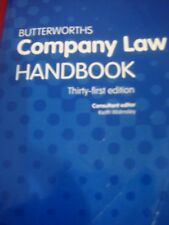 BUTTERWORTHS COMPANY LAW HANDBOOK THIRTY FIRST EDITION 2017 LEXIS NEXIS