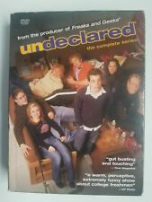 Undeclared - The Complete Series (DVD, 2005, 4-Disc Set) Good Condition