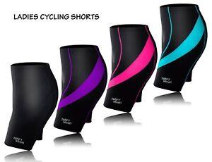 Women Cycling Tights Shorts Padded Ladies Leggings Cool Max Anti Bac Pad Bycycle