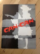 Cole Porter's Can-Can souvenir program Lilo, Norwood Smith, Joan Holloway