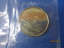 $1 Dollar Canada 2012 lucky Loonie coin Royal Canadian Mint CelloPhane Sealed