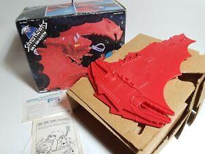 Vintage Kenner 1985 SILVERHAWKS SKY SHADOW boxed + card inserts unused rare