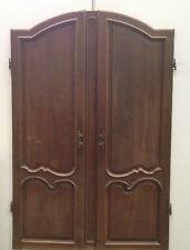 Portes d'armoire en chêne / Portes de placards