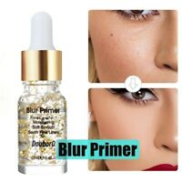 12ML Blur Primer Face Base Make Up 24K Gold Elixir Oil Control Collagen Essence