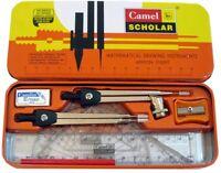 10-Piece Camlin Math Tool Set Drawing Instruments Exam Geometry Box Free Ship