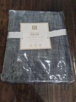 """Pottery Barn Teen True Blue Denim Drape Panel 52"""" x 96"""" New NWT 52x96"""